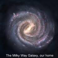 Mikly Way Galaxy, Our Home