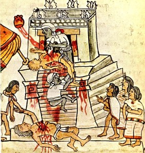 Sacrifice Mayan Style
