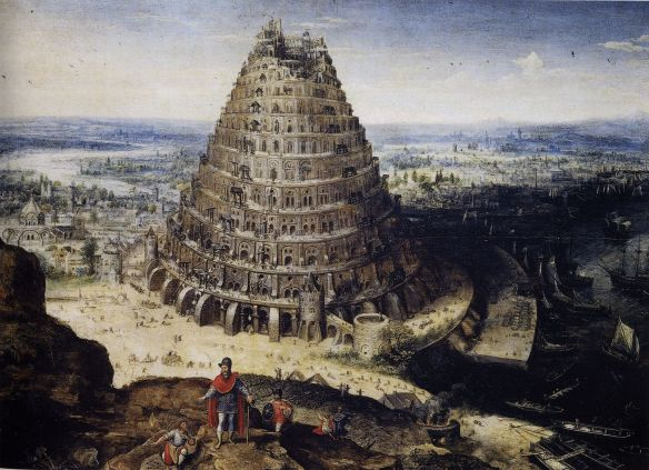 Tower of Babel - by Lucas van Valckenborch, 1594,