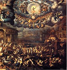 The Last Judgement - by Jean Cousin the Younger (c. late 16th century). The Louvre, France.