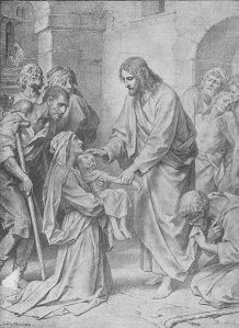 Holy Person Healing the Sick