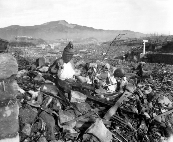 "A Japanese report characterized Nagasaki, after the United States dropped an atomic bomb on the city on August 9, 1945, as ""a graveyard with not a tombstone standing"""