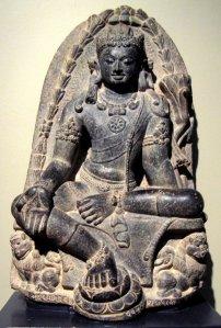 The Manjushri Kumara, the Bodhisattva of Wisdom.